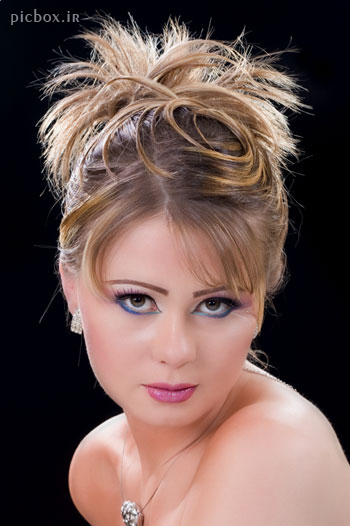 مدل آرایش شینیون