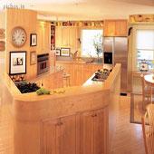جدید ترین دکوراسیون داخلی آشپزخانه - picbox.ir