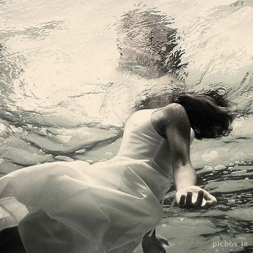 عکس هنری با موضوع آب