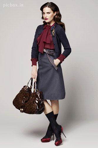مدل لباس های زمستانی دخترانه