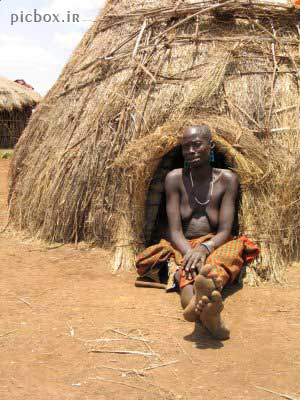 تصاویری فوق العاده جالب و دیدنی از بومیان کشور اتیوپی